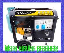 6 kilowatts liquefied natural gas multi-fuel generator gasoline generator electric start(China (Mainland))