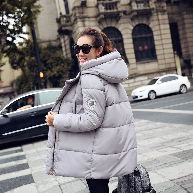 Cotton Wadded Jacket Womens Clothing Loose Winter Jacket Women Hooded Casual Parkas Long Coats Jackets Fashion Overcoat  C1381Одежда и ак�е��уары<br><br><br>Aliexpress