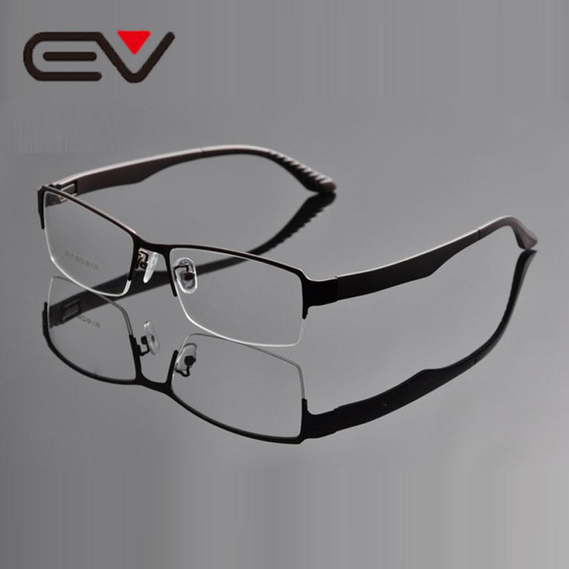 Eyeglasses Frame Size Calculator : 2016 Mens Super Large Wide Oversized Half rim Metal ...
