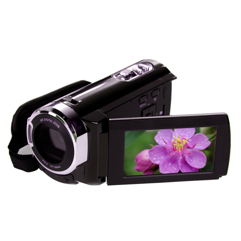 3.0 TFT LCD Touch Screen Full HD 1080P 16MP Digital Video Camera Camcorder DV 16x ZOOM<br><br>Aliexpress