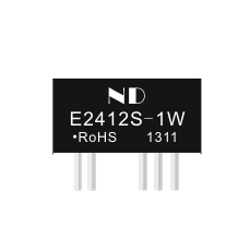 3000VDC dc dc converter  isolated module  24v to 12v  E2412S-1W unregulated dual output quality product<br><br>Aliexpress