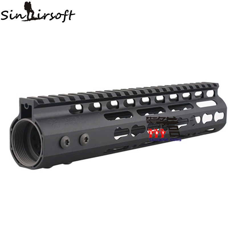 Фотография High Quality Lightest 10 inch Handguard One-piece Top Rail System For AR-15 M4 M16 BLACK