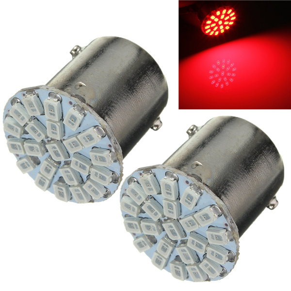 Best Price BA15S P21W 1156 22 LED 1206 SMD Car Auto Tail Side Indicator Lights Parking