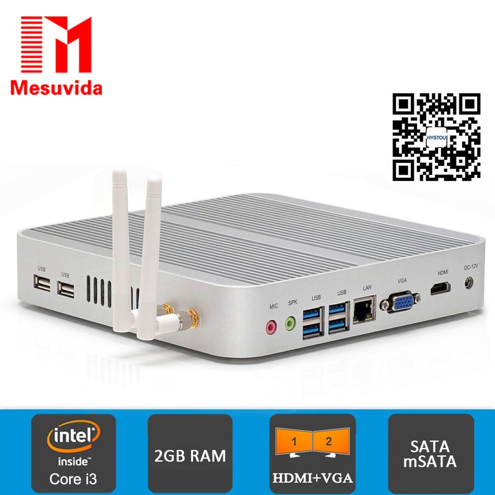 Mesuvida HYSTOU FMP03 Digital Top TV Box Mini PC Core-i5-4200U For Intel HM86 Express Media Box HDMI VGA Output Set Top Box(China (Mainland))