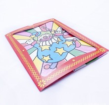 Envío gratis 2 unids tamaño grande payaso tarjeta de cambio de color trucos de magia del color props juguetes mágicos