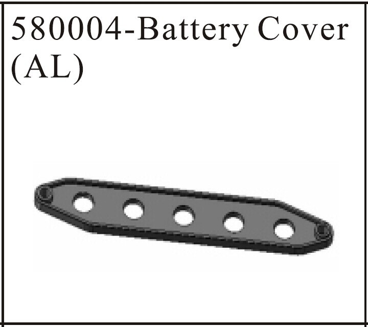 hsp 580004 Battery Cover(AL) For 1:18 1/18 Model Car Buggy Monster Truck Short Course Truck Spare Parts(China (Mainland))