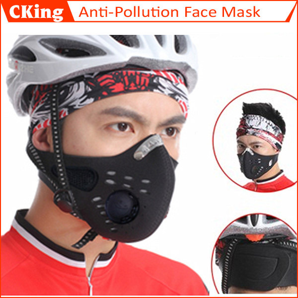 Гаджет  2014 Hottest Anti Dust Cycling Bicycle Bike Motorcycle Racing Ski Half Face Mask Filter None Безопасность и защита