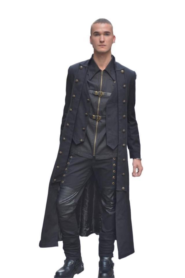 Free shipping the British style slim men's trench coat(China (Mainland))