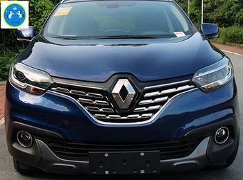 Яркий Стиль! для Renault Kadjar 2016 2017 ABS Передняя Решетка Гриль Streamer Обложка Отделка 7 Шт./компл.