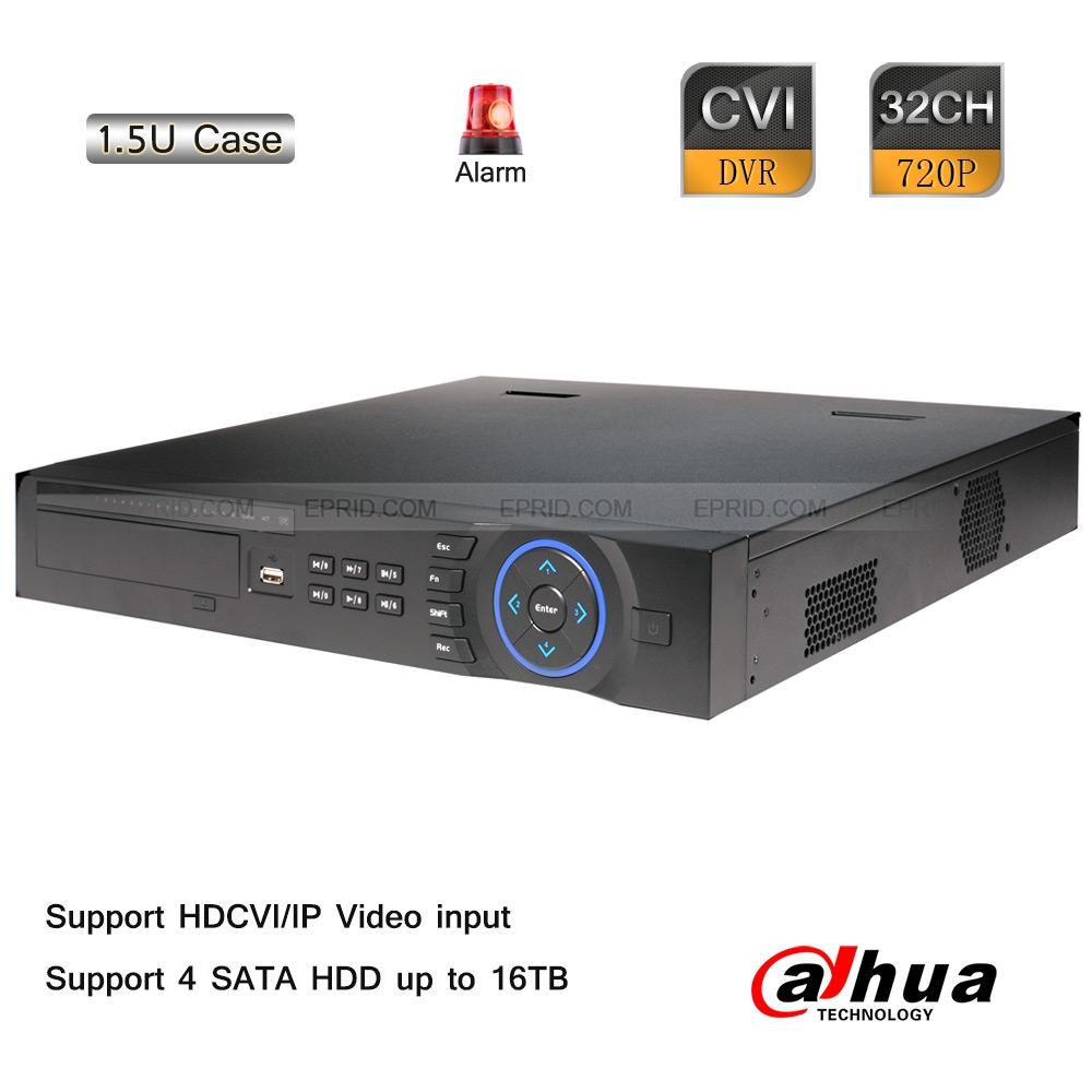 Dahua 32CH 720P-Pro Realtime 1.5U HDCVI IP Hybrid DVR 1080P NVR 4 SATA 16TB<br><br>Aliexpress