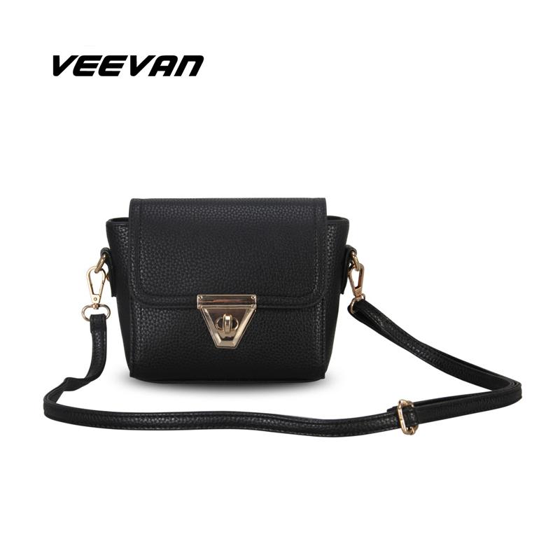 VEEVAN 2016 new women messenger bags fashion women shoulder bags crossbody bag small women handbag leather bag clutch purses(China (Mainland))