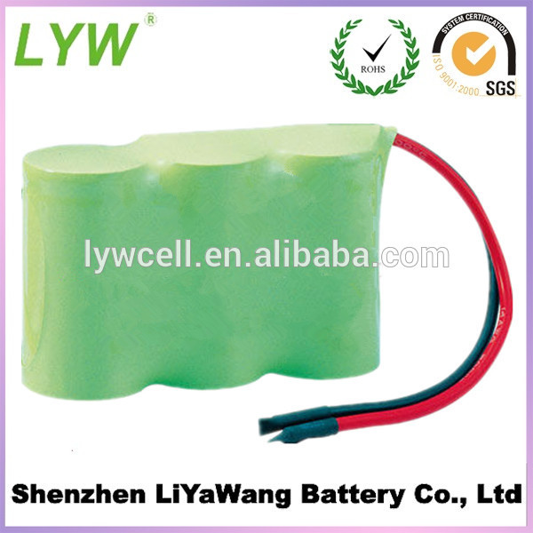 3.6V D size nimh rechargeable battery pack 1600MAH or customized(China (Mainland))