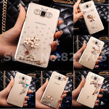 Top Luxury Rhinestone Diamond Case Cover samsung Galaxy A7 A5 A3 J1 J3 J5 J7 2016 J2 Hard Protective Phone Cases - ShenZhen YiHao Digital Co., Ltd. store