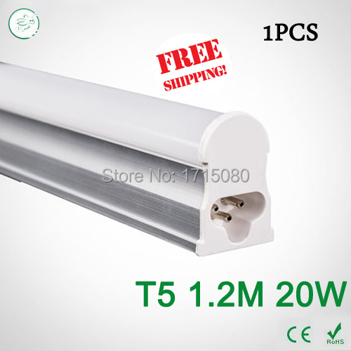 Super Brightness 20W T5 led Tubes 1200mm SMD 2835 Led Bulbs lights Fluorescent Tubes AC85~265V Constant Current<br><br>Aliexpress