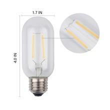 T45 LED Edison Bulb Retro Bombillas 2W 4W 6W E27 Vintage COB LED Filament Energy Saving Lamp 220V For Decor Home Lighting(China (Mainland))