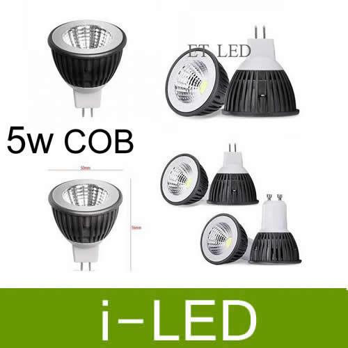 new arrival cob 5w led lamp light gu10 e27 mr16 dimmable led spotlight lighting 110-240v warm natural white 4000k 60angle UL CSA(China (Mainland))