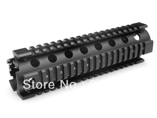 Model 4/15 Mid Length Quad Rail System MNT-HG416MA With Rubber Covers for AEG M4/M16 Free shipping<br><br>Aliexpress