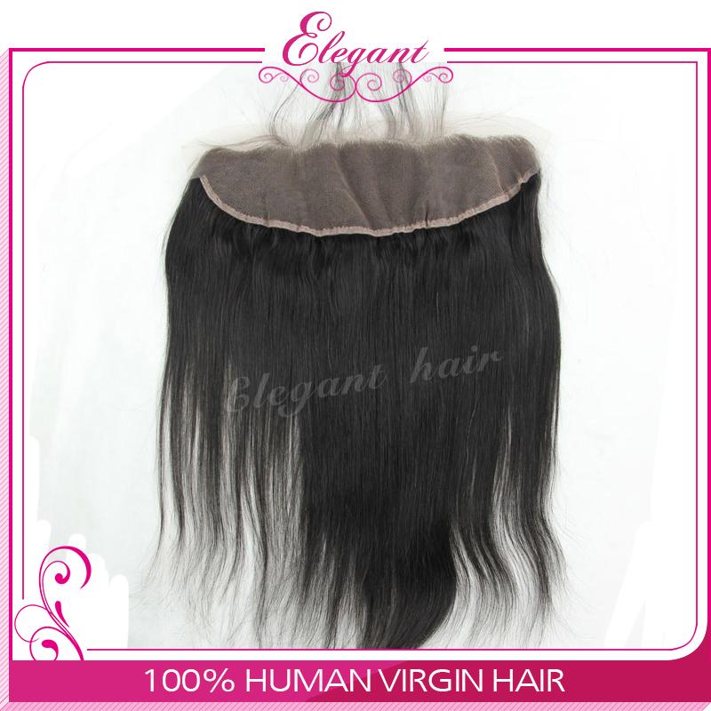 "Free shipping Virgin Brazilian Lace Frontal 13x4"" Bleached Knots Virgin Frontal Piece Body Wave Full Lace Frontal Brazilian Wavy(China (Mainland))"