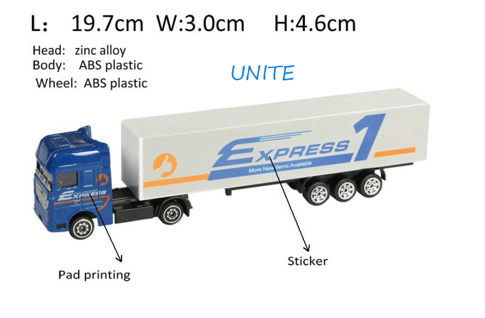 Free Shipping New 1:87 European Alloy Metal Truck Diecast Toy Car Cola Truck Models Factory Drect Sales Wholesale New In Stock(China (Mainland))