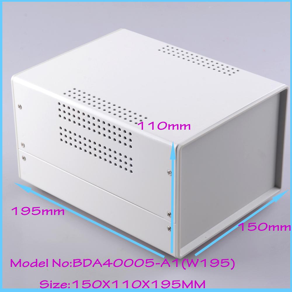 (1  )150x110x195 mm industrial case electronics enclosure diy iron box for electronics box enclosures electronic metal box<br><br>Aliexpress
