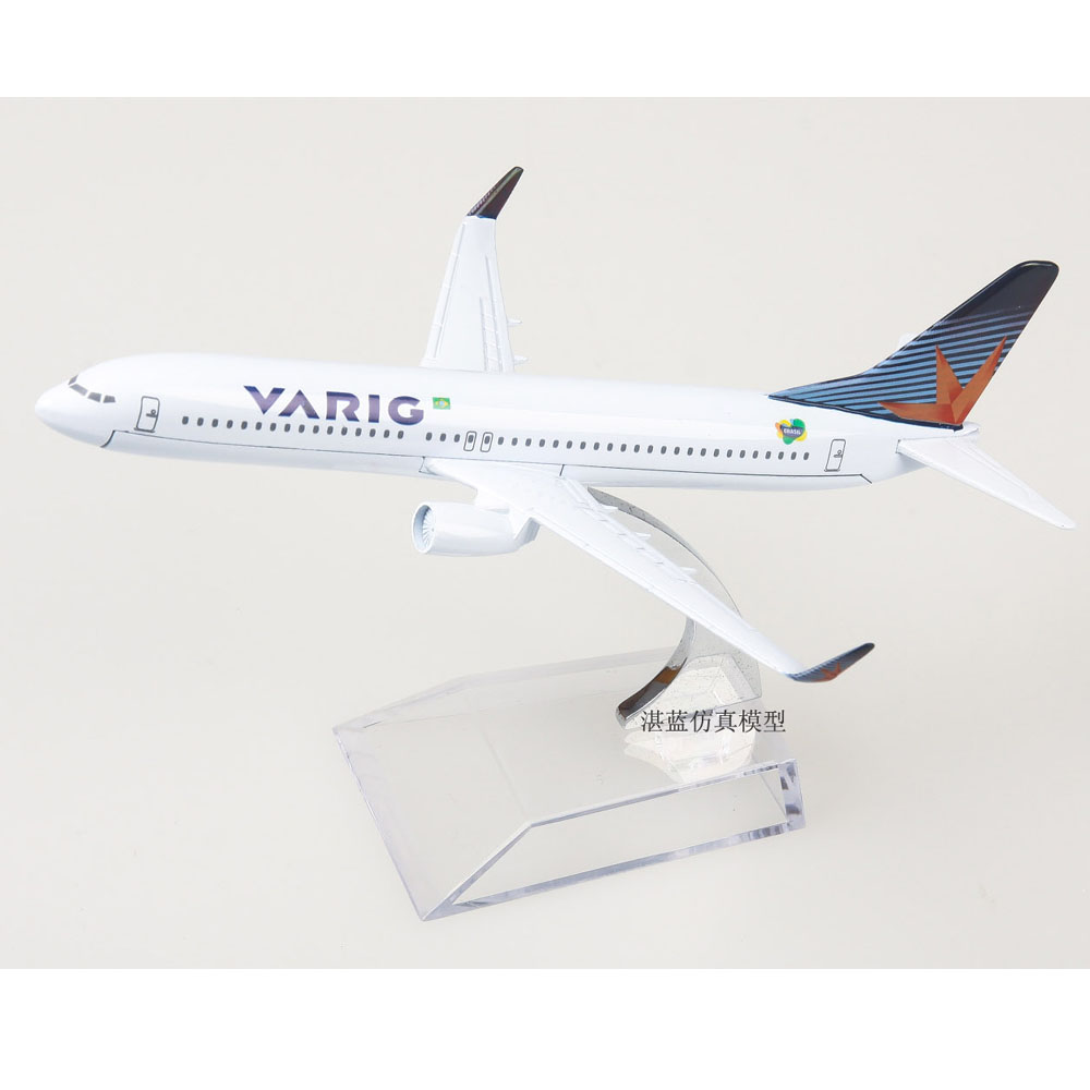 Brand New 1/400 Scale VARIG Boeing 737-800 Airplane 16cm Length Diecast Metal Plane Model Toy For Collection/Gift(China (Mainland))
