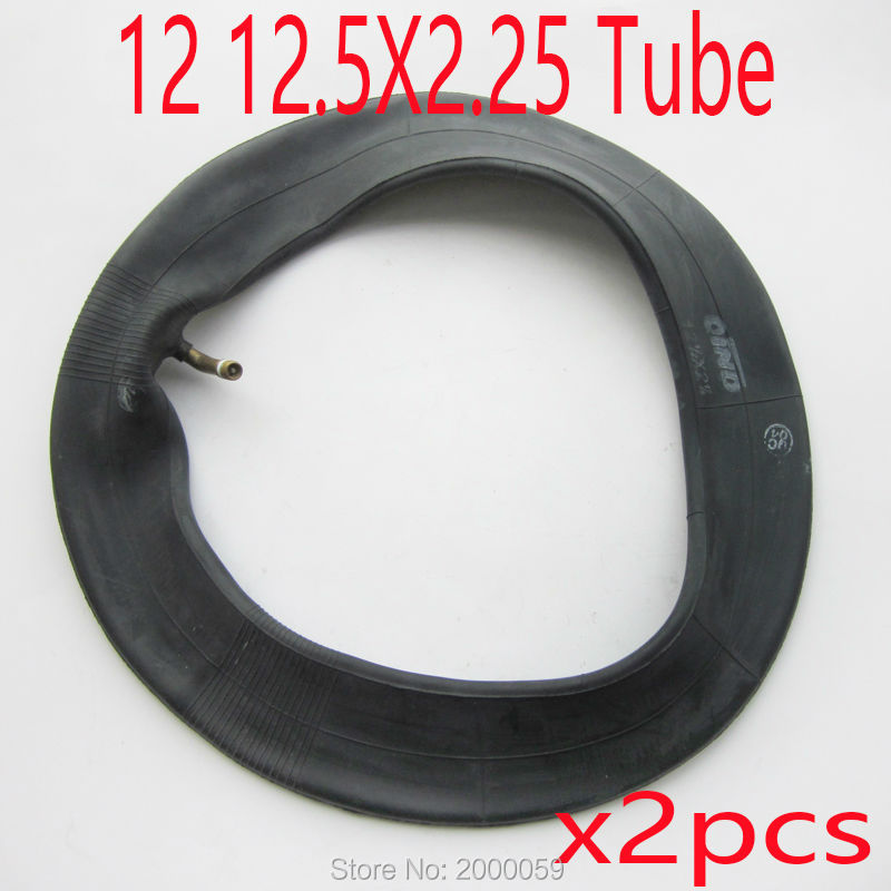 (2X) QIND 12Inch 1/2x2 1/4(12.5X2.25) Scooter Inner Tube Bent Valve RAZOR MINI ELECTRIC DIRT BIKE INNER TUBE(China (Mainland))
