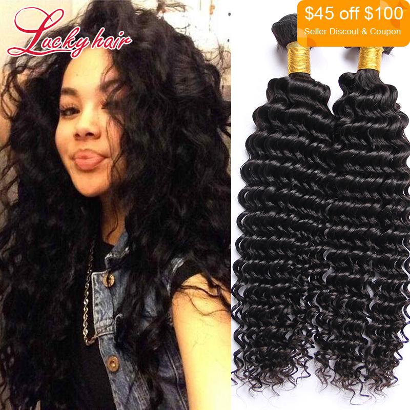 Qingdao Hot Hair Products Brazilian Deep Curly Virgin Hair Weave 4pcs Unprocessed Vietnamese Hair Deep Wave Cabelo Onda Barato(China (Mainland))