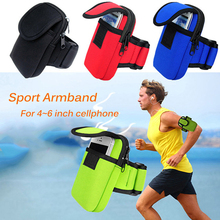 Universal Waterproof Running Sport Arm Phone Bag Cover For iPhone 5 6 S Plus For Galaxy S6/S5/S4 Note5/4 4-6inch Protective Case