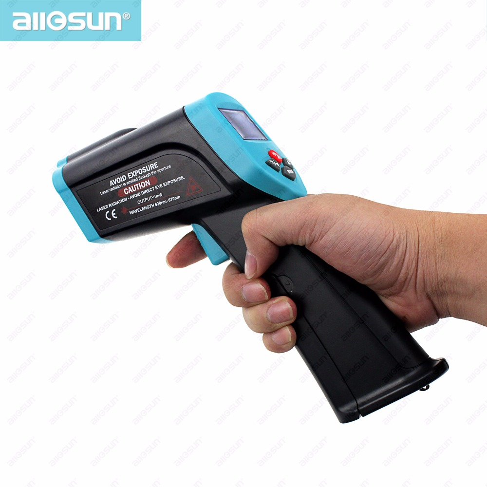 Non contact Laser infrared thermometer Temperature Gun automatic measurement tester automatic power-off EM528 all-sun(China (Mainland))
