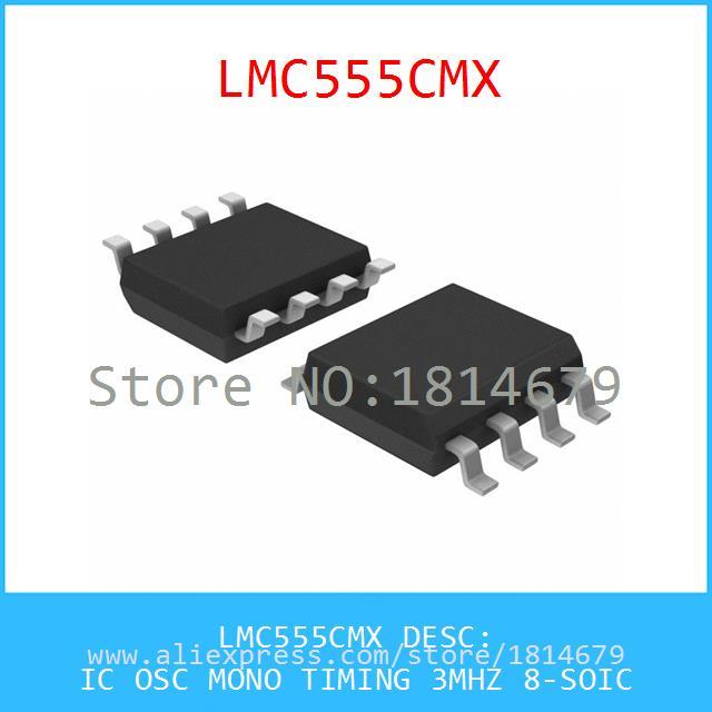 Hot Sale Smart Electronics Integrated Circuit LMC555CMX IC OSC MONO TIMING 3MHZ 8-SOIC 555 LMC555 3pcs(China (Mainland))