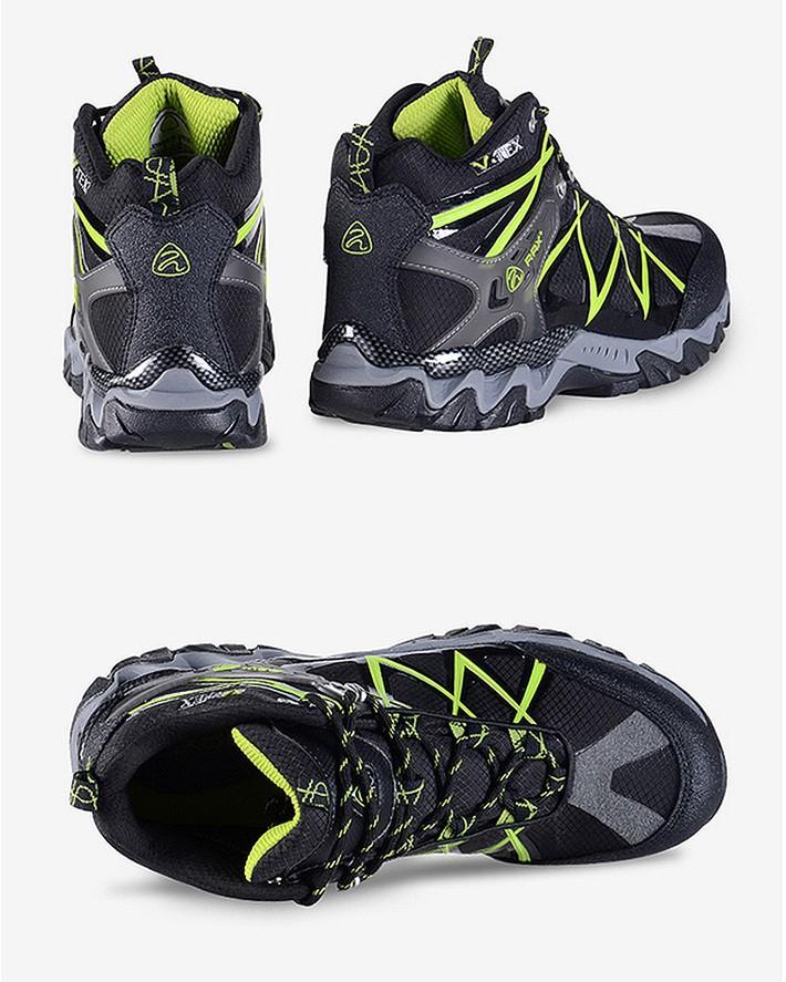 RAX Waterproof Lightweight Breathable Hiking Boots Men Senderismo