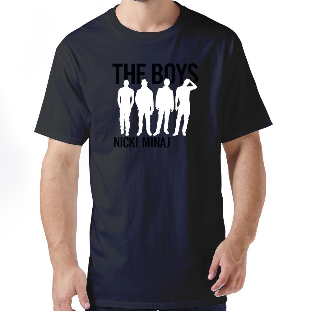 New Nicki Minaj The Boys T Shirts Korean Style Organic