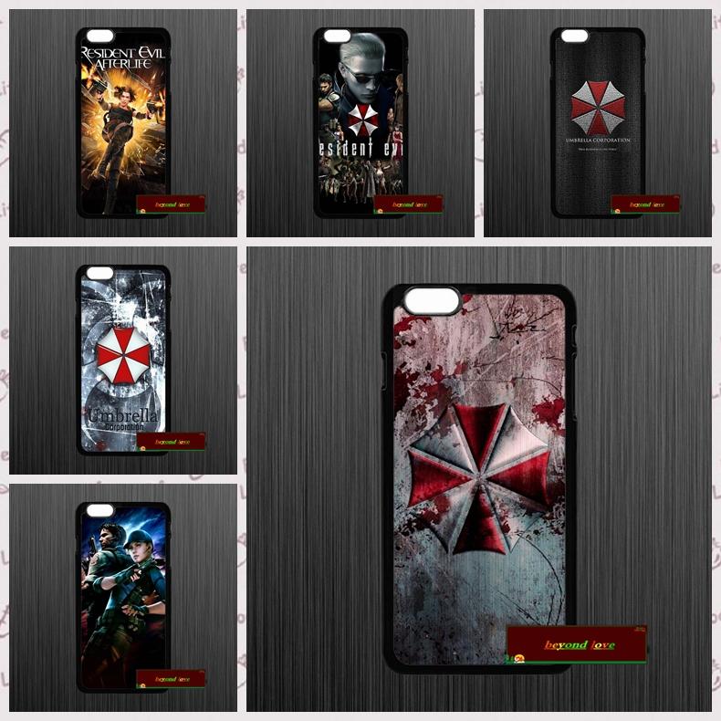 resident evil 7 umbrella corporatio case for iphone 4 4s 5 5s 5c 6 6s plus samsung galaxy S3 S4 mini S5 S6 Note 2 3 4 F0116(China (Mainland))