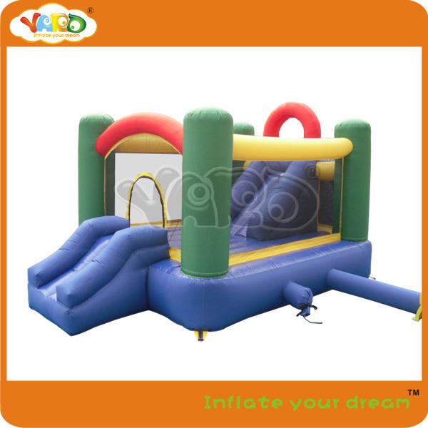 Bouncy jumper_double slides bouncy jumper