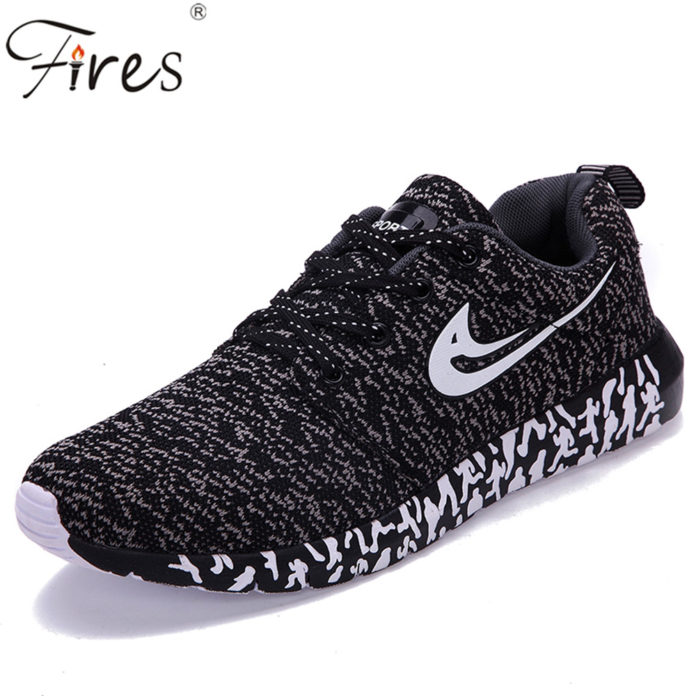 2017 Wholesale sports shoes Men Sneakers Cheap Running Shoes 500 pairs of a package Trend Training Flat Walking Shoes Zapatillas(China (Mainland))