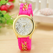 High Quality Of Geneva Rome New Silicone False Three Eyes Unisex Watch Wholesale Leisure Sports Watch