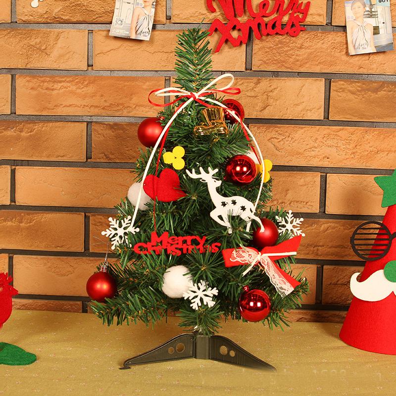 Fashion felt cloth pvc merry christmas decoration mini for New home christmas decoration