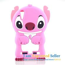 For Lenovo K3 Lemo K3 (K30-T) K30W K30-W K30T Case 3D cute Cartoon Soft Rubber silicon Stitch Case Folding of the Ear