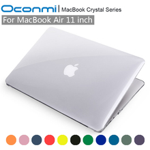 Crystal Transparent Clear Hard Case for Apple Macbook Air 11 cover 11.6 inch A1465 A1370 laptop bag for Macbook Air 11 case(China (Mainland))