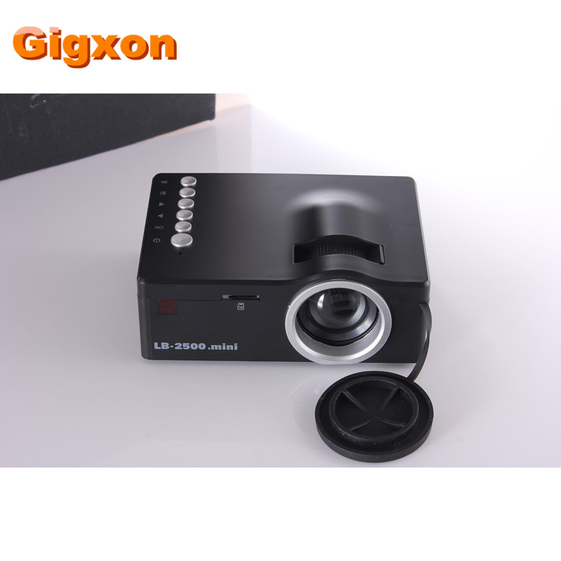 Gigxon g18 high quality 1080p home theater led mini for Top rated pocket projectors