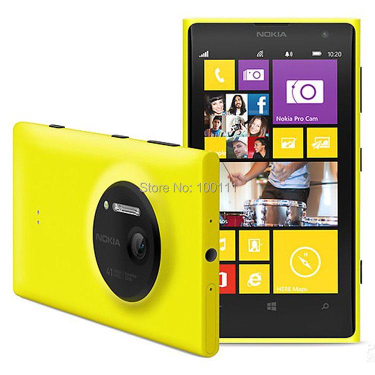 Nokia Lumia 1020 Original Mobile Phone Unlocked 4.5inch WIFI 41.0MP Camra 32GB ROM Dual core, Free DHL-EMS shipping(Hong Kong)