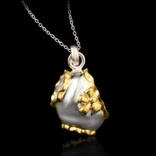 Fine silver jewelry exaggerated body underwear cubic shape pendant necklace upscale jewelry A3175(China (Mainland))