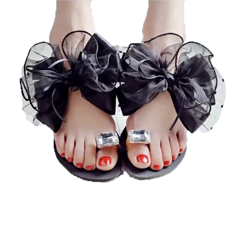 Fashion Bohemia Women Sandals 2015 Slipper Gold Rhinestone Flat Sandals For Women Summer Style Women Flip Flops<br><br>Aliexpress