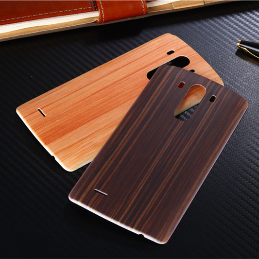 Original Wood Bamboo Pattern Case For LG G3 D850 D855 LS990 Back Battery Cover for LG G3 Housing Replacement Parts + Free Sucker(China (Mainland))