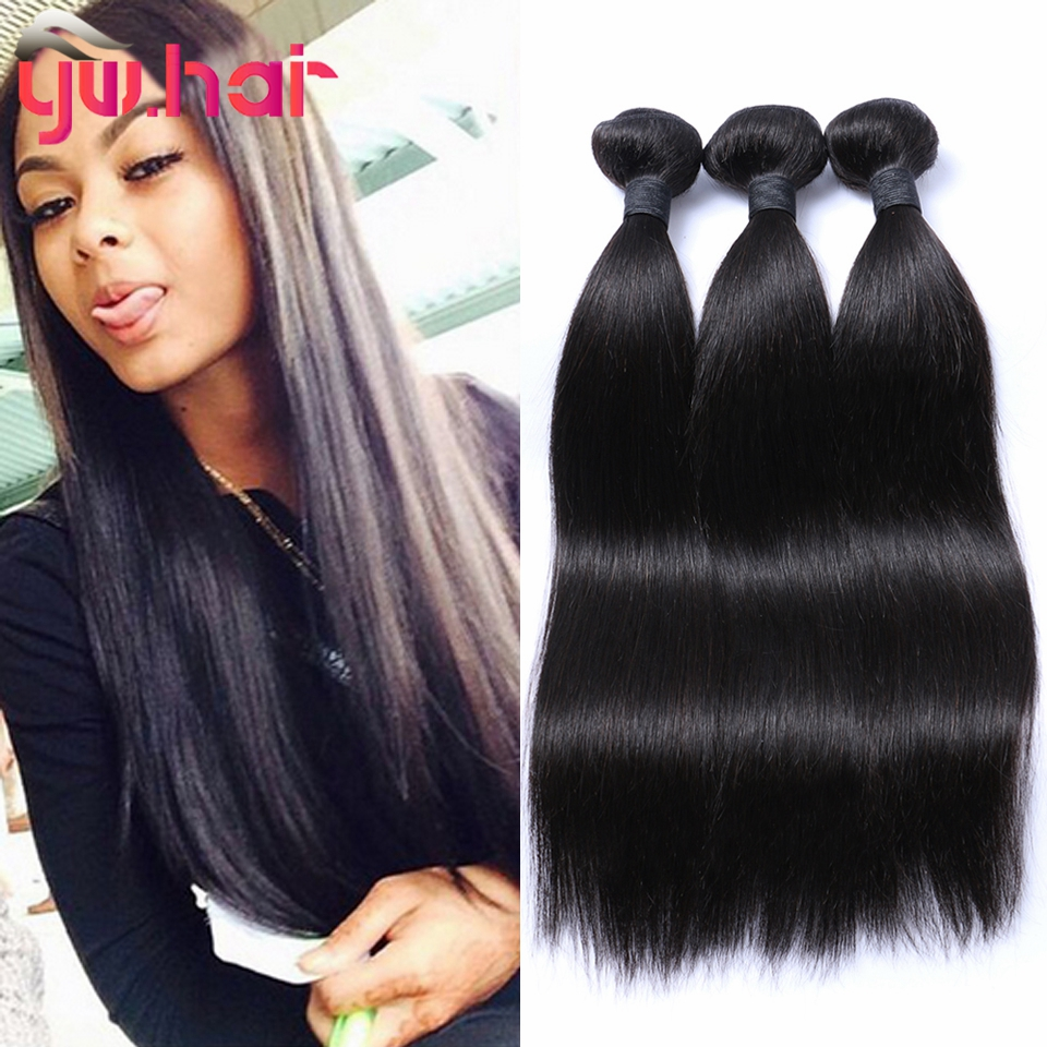 Brazilian Virgin Hair Straight 3 Bundles Lot 6a Unprocessed Virgin Hair Brazilian Straight Hair Weave Bundles Cheap Human Hair