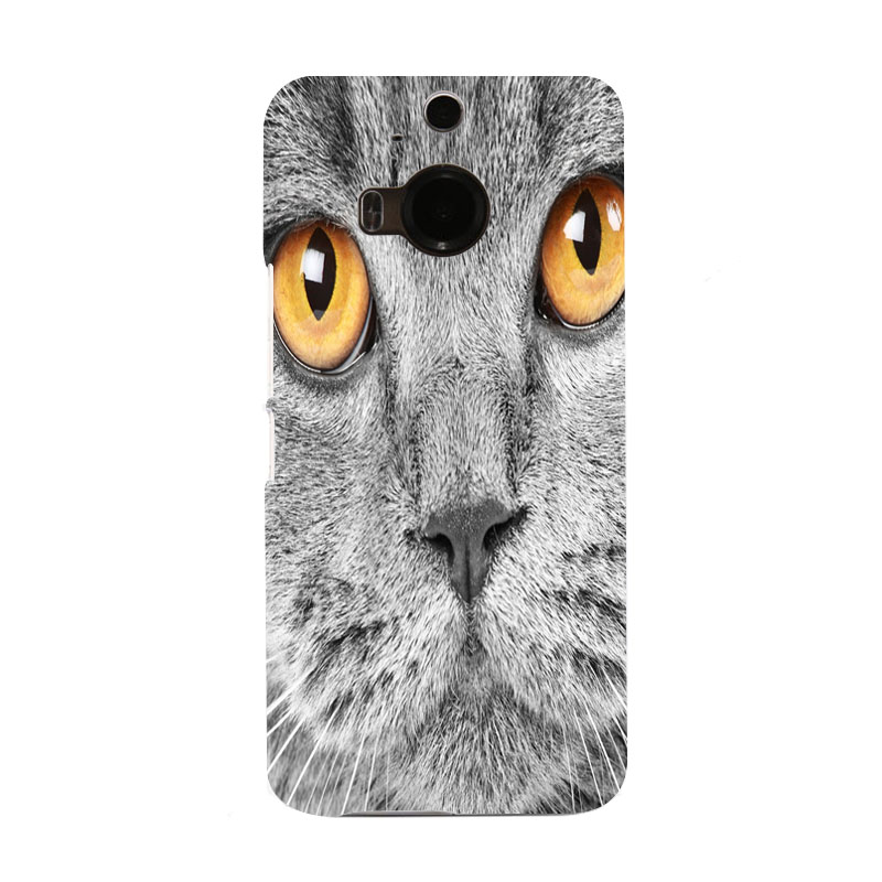 Fantasy Cat Lovely Gorgeous Icon Hard Chic Telephone Case for HTC M9 and M9 PLUS(China (Mainland))