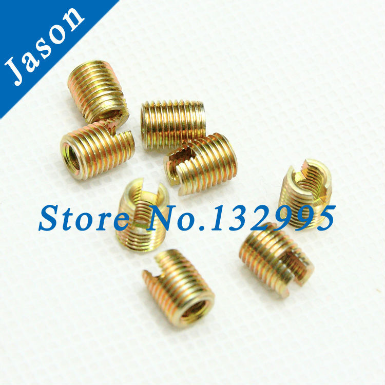 Гаджет  M10  Self Tapping insert/Self Tapping Screw Bushing/Carbon Steel 302 slotted type Wire Thread Repair Insert None Аппаратные средства