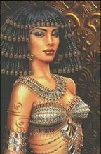 woman like Cleopatra , Counted Cross Stitch 14CT Cross Stitch Sets Wholesale cartoon Cross-stitch Kits Embroidery Needlework