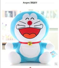 NEW STuffed plush toy 30cm laugh Doraemon lol doll about  12 inch soft huge Toy birthday gift wt4990