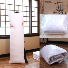 Anime Long Body Hug Hugging Pillow Core Inner Insert Large Pillows PP Cotton Filling Cushion For Adult Hotel 160*50cm(China (Mainland))